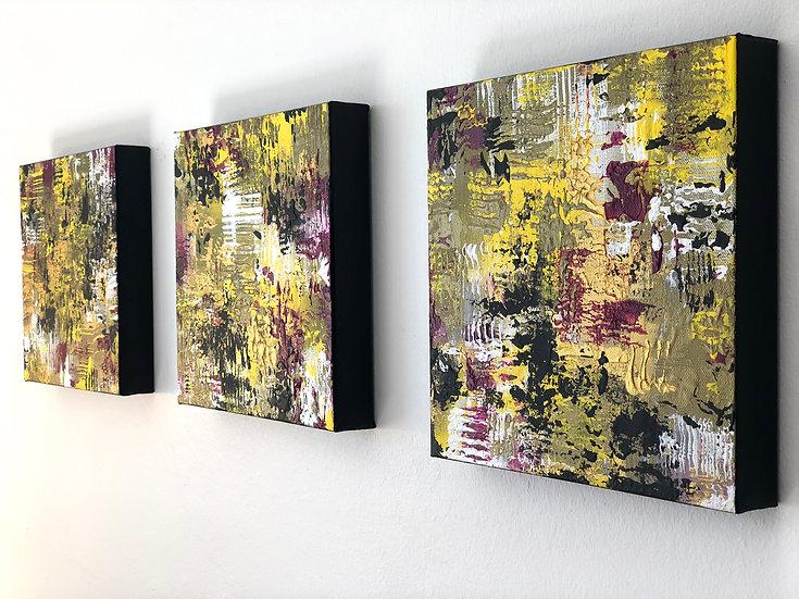 Sixth Sense. Music is everywhere (Triptych)