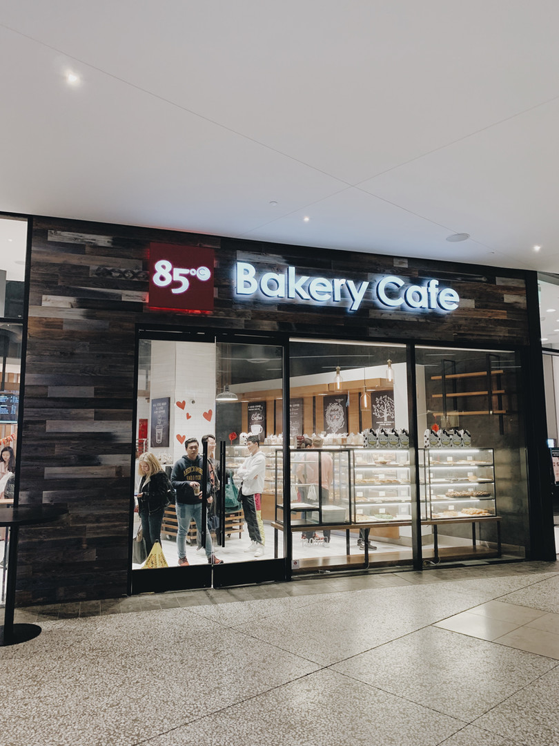 85 Bakery Cafe in Century City Mall - Sand & Stone