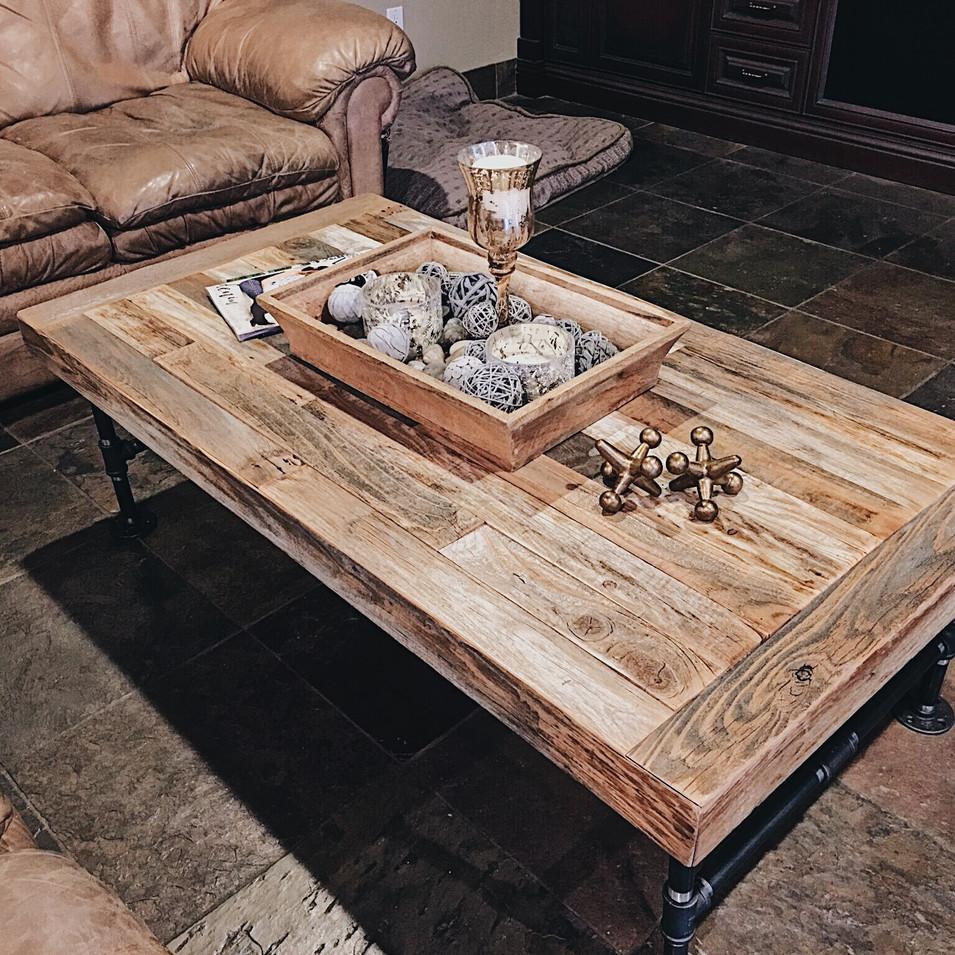 Create a coffee table!