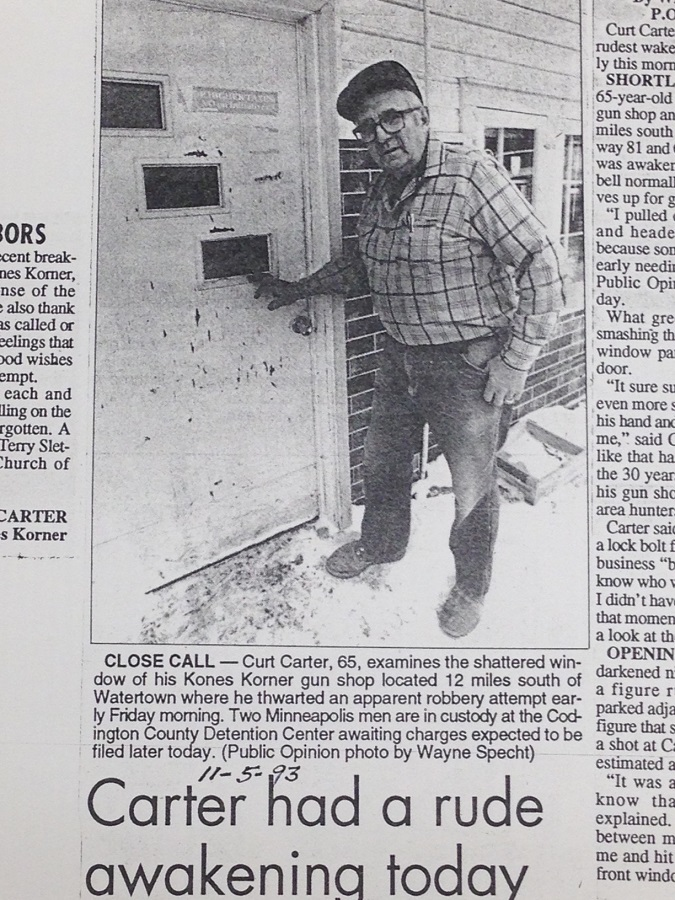 Curt 1993 Robbery