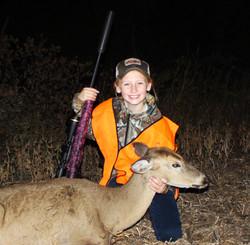 Emersons 1st Deer