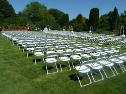 1000 White Chairs ready for you!