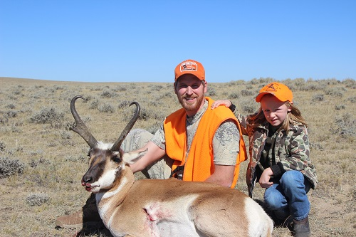 Charlie Carter 2013 WY Antelope