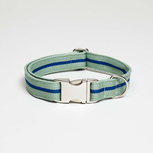 colorful textil dog collar, top dog cool cat, farbig gestreiftes Hundehalsband , Hundeaccessoires