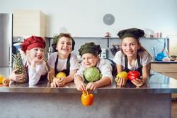 Junior Chef Vegetarian Cuisine