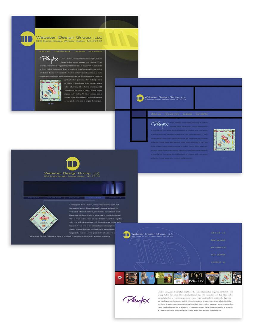 UI/UX Interactive Sites