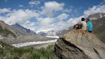 Berg Reisen Expedition mit Bergführer