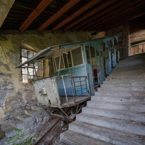 Funicolare: Abandoned and decayed in Italy