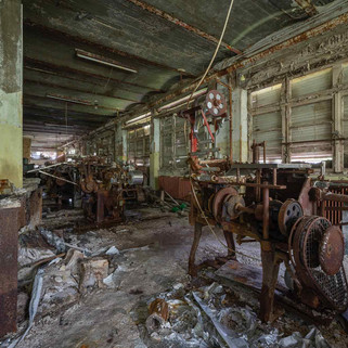 Chocolate factory: Abandoned in Germany