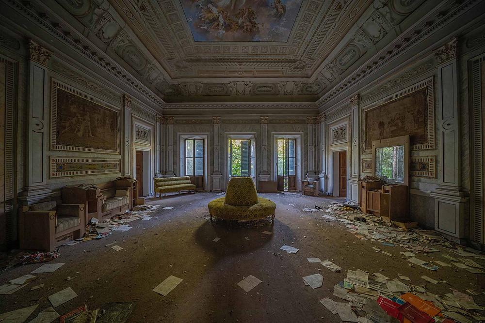 Abandoned Villa Pavone