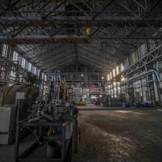 Forladt kraftværk med et par overraskelser: Powerplant Blue