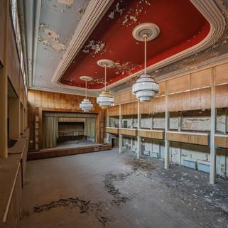 Hotel Fürstenhof: Abandoned hotel with a fascinating ballroom