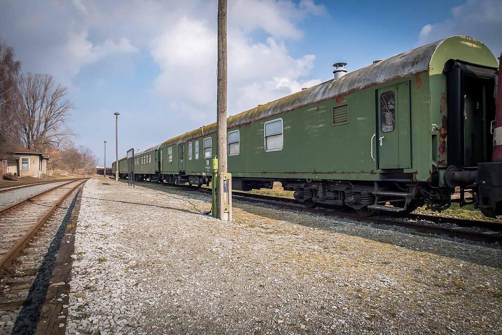 Forladt katastrofe tog fra DDR set udefra