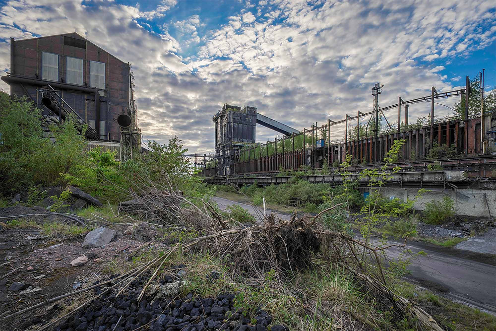 Abandoned industrial buildings in Belgium