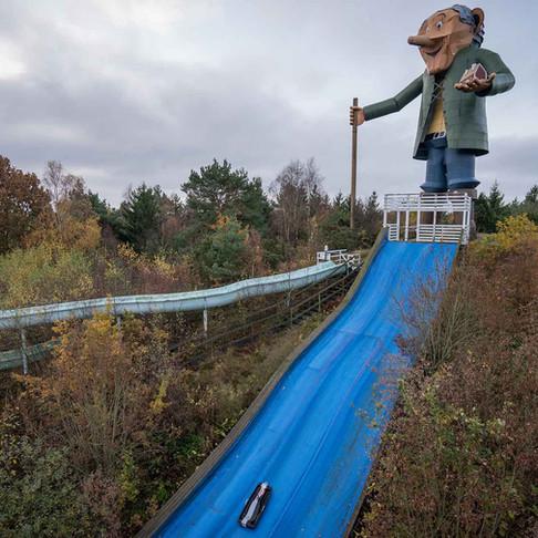 Forladt forlystelspark i Sverige: Funcity Varberg