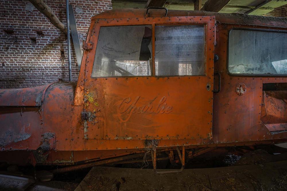 Abandoned Antarctic vehicles
