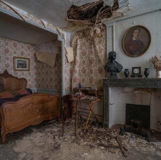 Forladt slot i Frankrig: Chateau Marianne