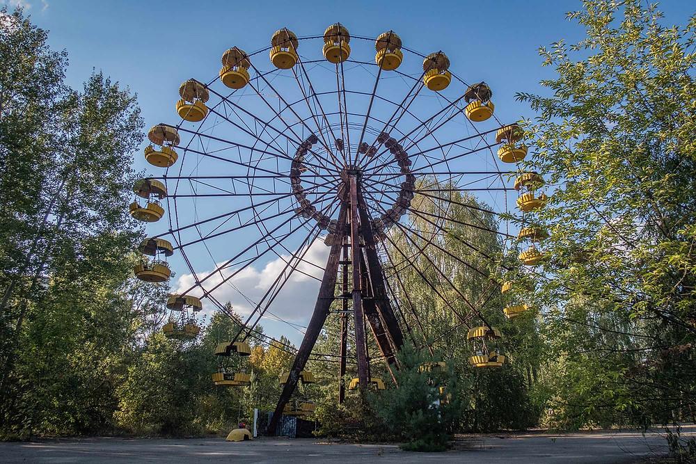 Lunarpark in Chernobyl