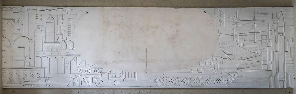 Abandoned soviet art