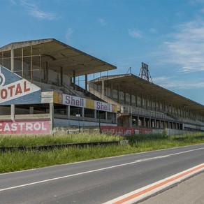 Circuit de Reims: Abandoned racetrack in France