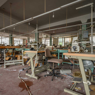Clothing factory: Abandoned in Limbach, Germany