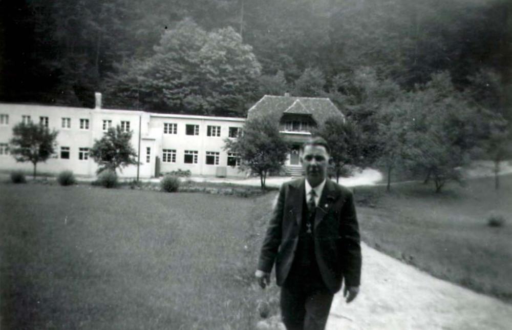historisk billede af fabrikkens grundlægger