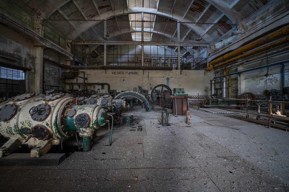 Forladt kraftværk