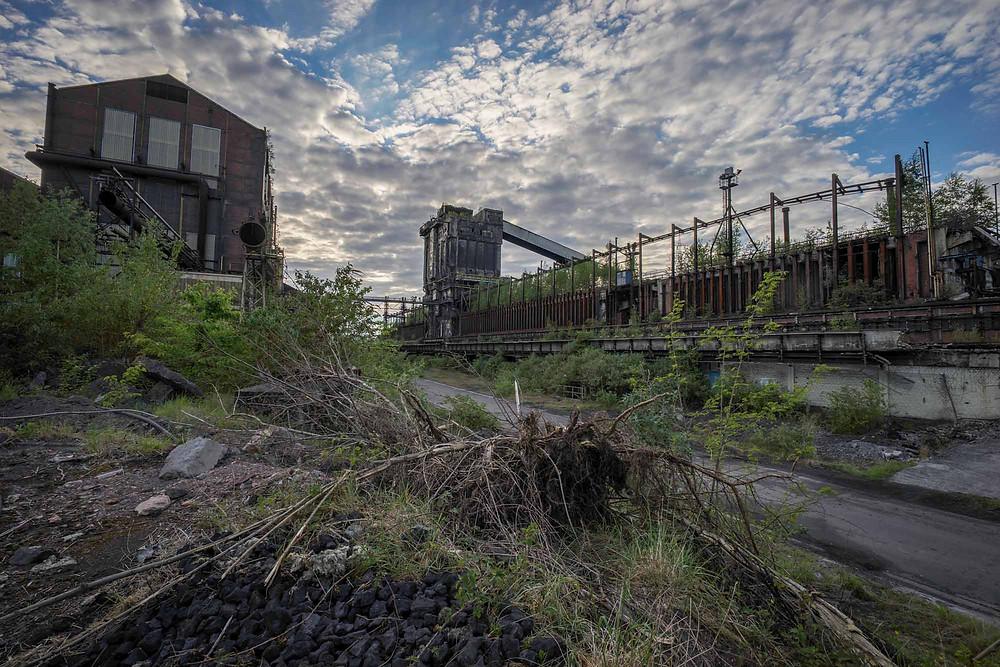Forladt industri bygninger i Belgien