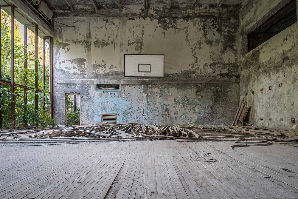 Chernobyl culture house