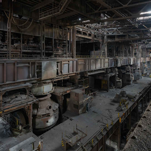 Gigantisk forladt stålværk i Belgien: Heavy Metal