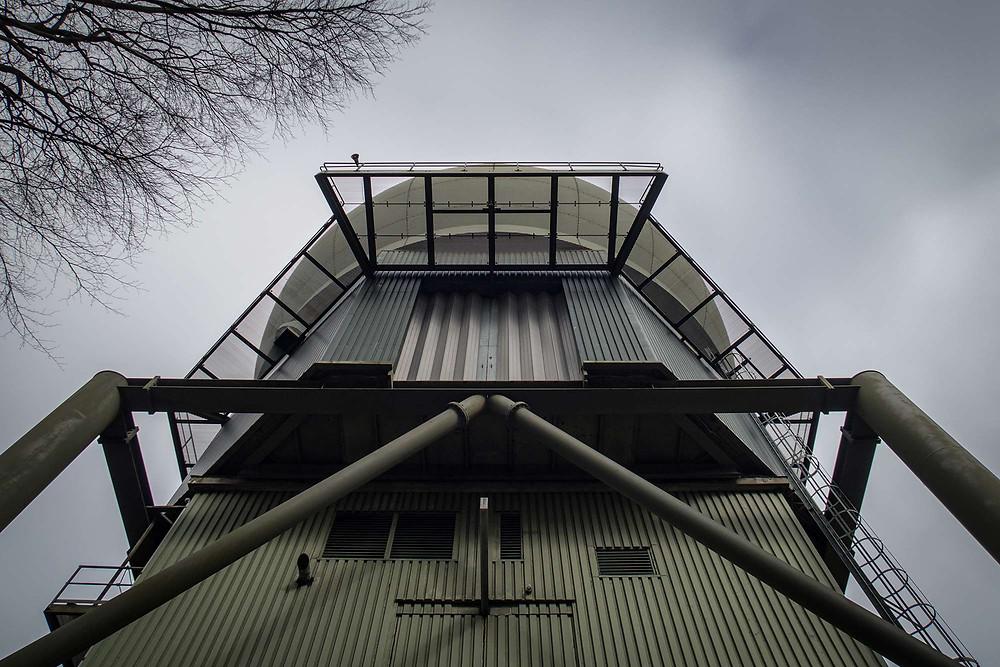 Radar station exterior