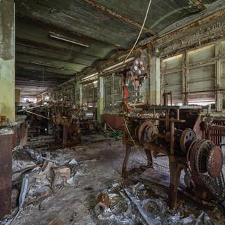 Forladt chokoladefabrik