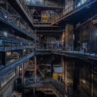 Et forladt stålværk i Belgien: Heavy Metal