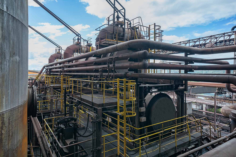 Pipes and tubes for the blast furnace