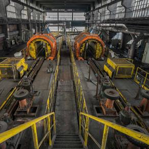 Zeche DB: Abandoned coal mine in Germany