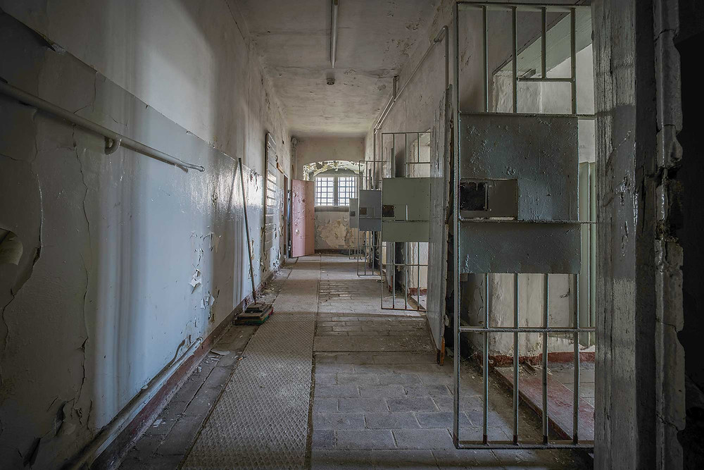 abandoned prison cells in Germany