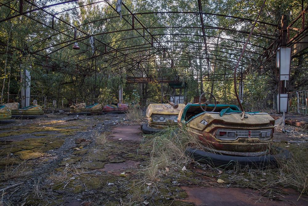 Lunar Park radiobiler efter Tjernobyl ulykken