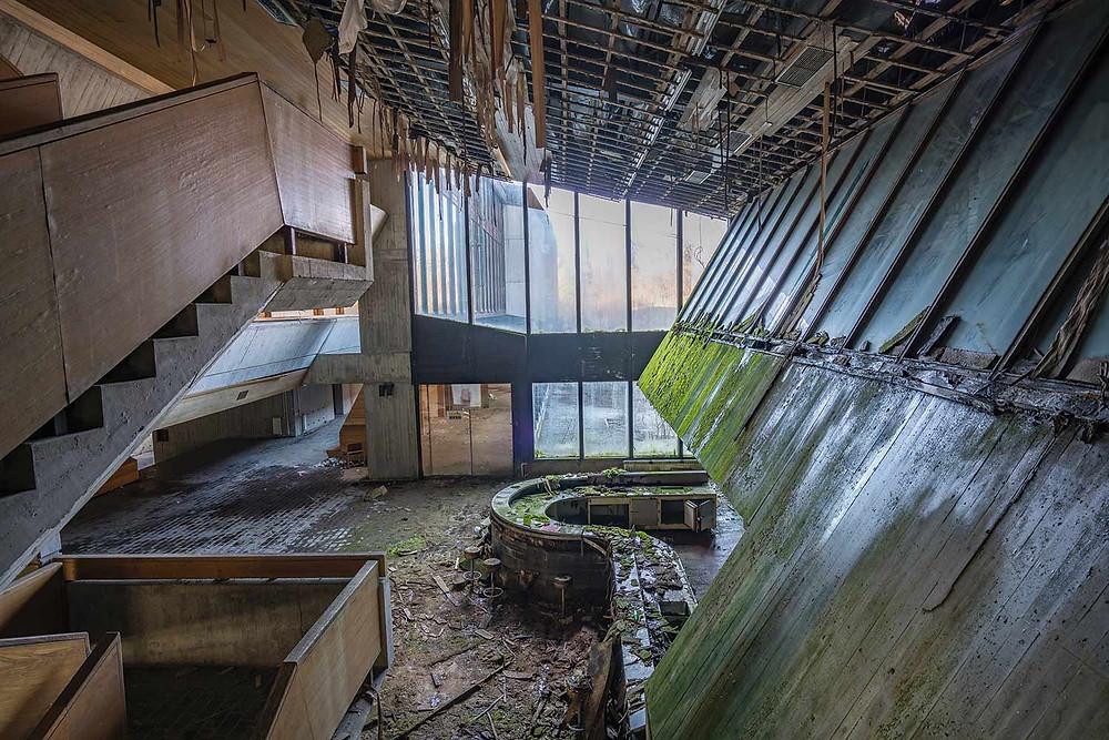 Abandoned school in Eastern Europe