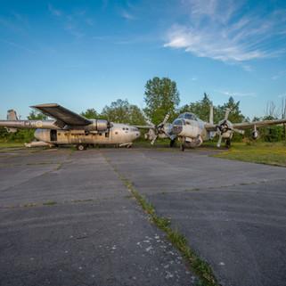 Forladte fly i Frankrig: Aircraft Graveyard
