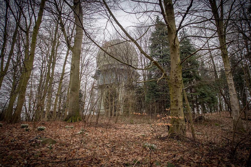 Skovhuse radar set fra skoven