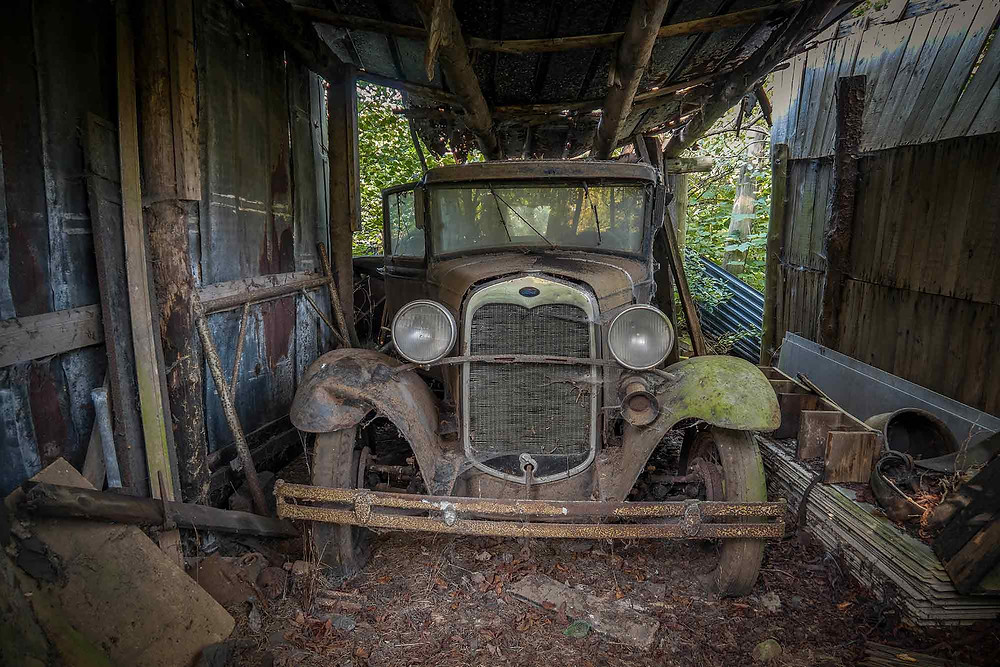Abandoned Ford A