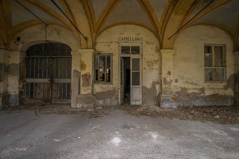 Abandoned monastery in Italy