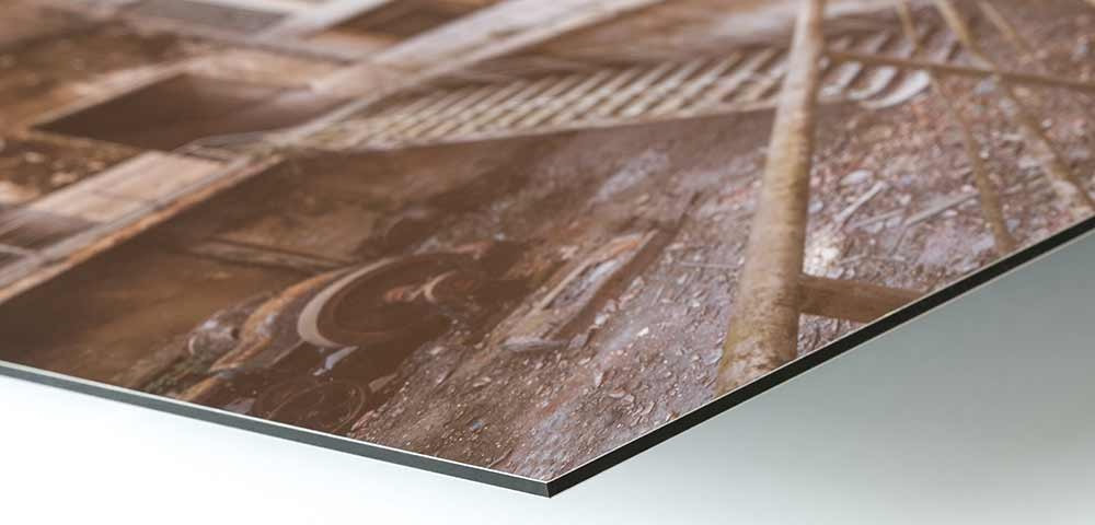 Photographic art printed on Aludibond without frame
