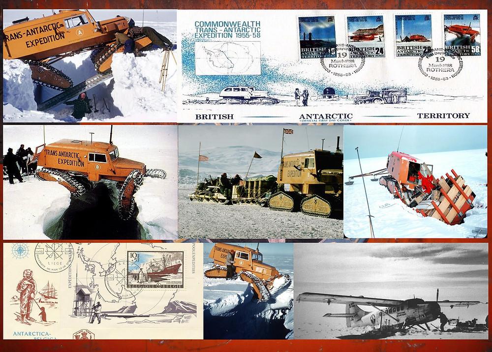 Sno-Cats at work at antarctic expedition1