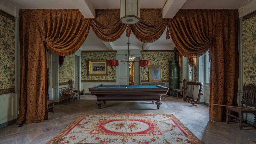 Forladt vinslot i Frankrig: Chateau Dramophone