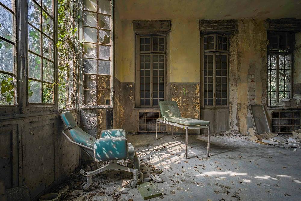 forladt hospital