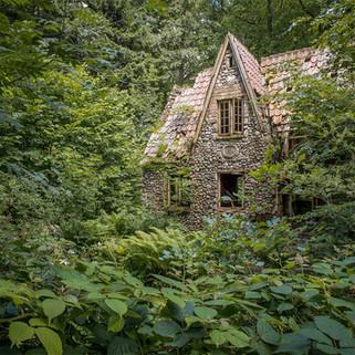 Forladte steder Jylland: Flintholm i skoven