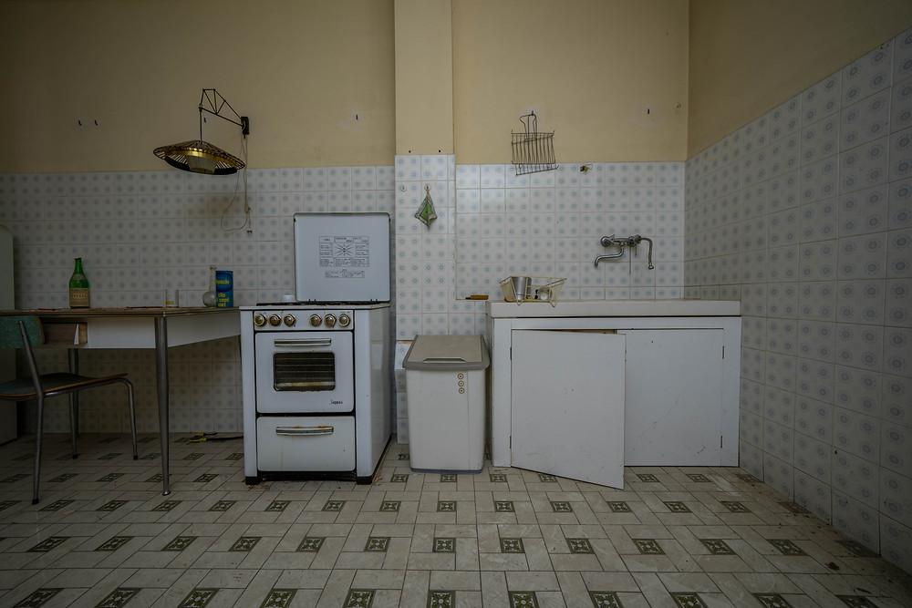 Fotokunst af forladte steder