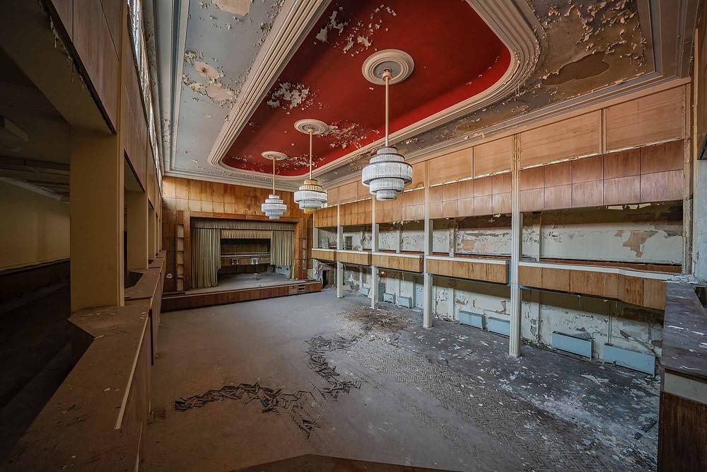 Forladt hotel Fürstenhof