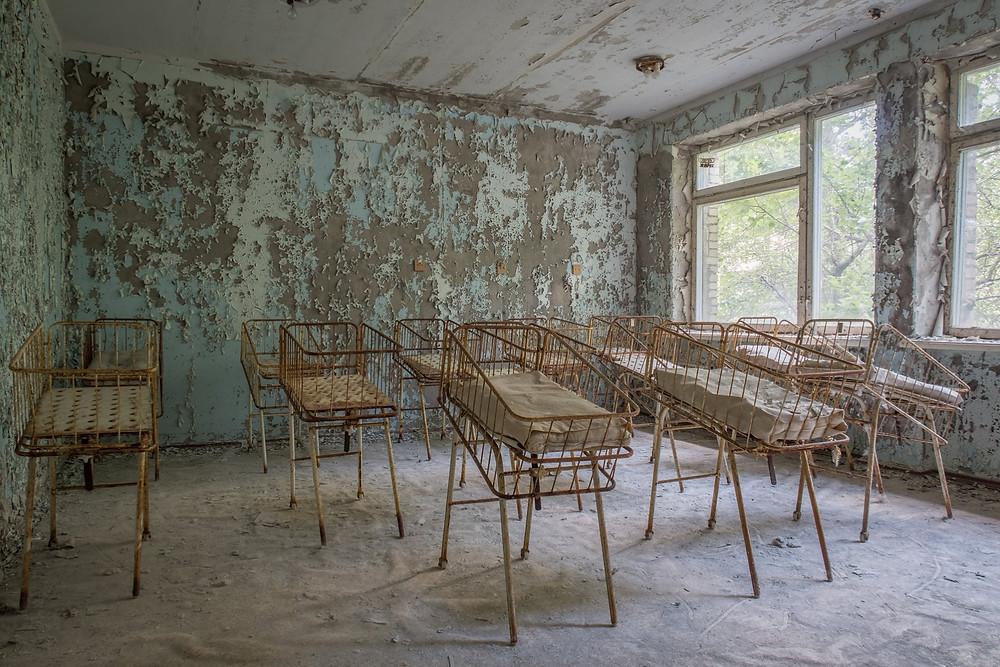 Børneafdeling efter Tjernobyl ulykken